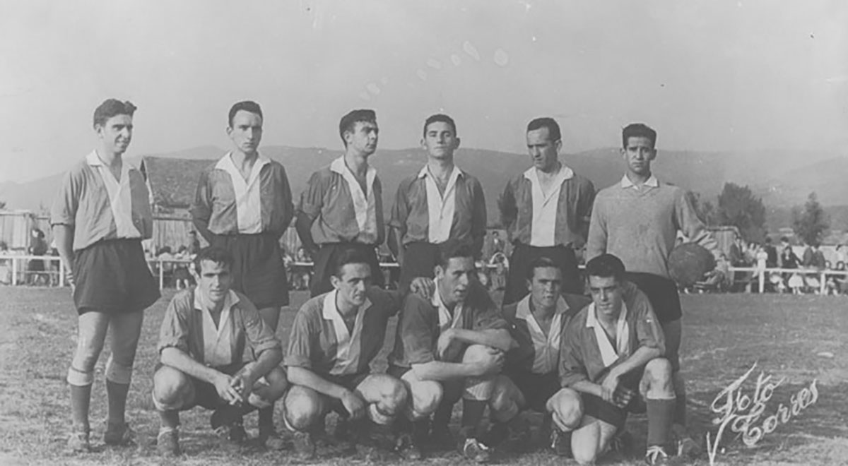 Amurrio club 1953-54