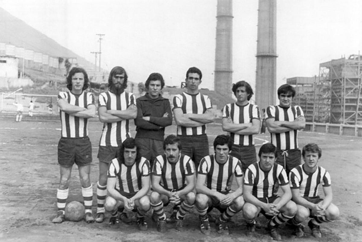 Amurrio club 1976-77