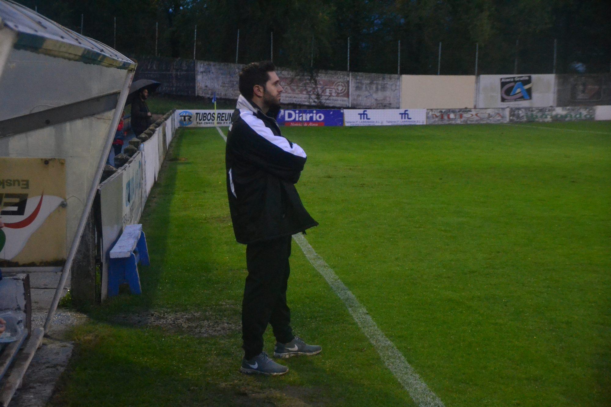 Calleja, entrenador del Amurrio club