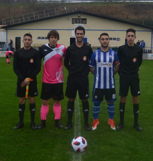 CAPITANES Y TRIO ARBITRAL (7-1)