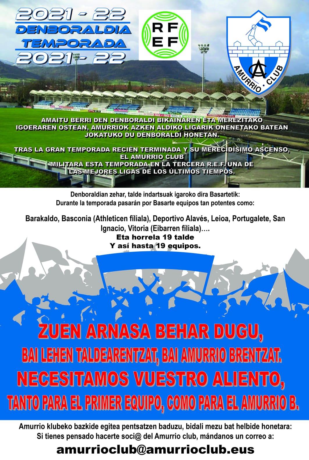 Amurrio Club - Socios - 2021 / 20222